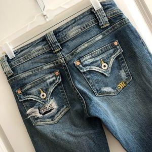 Miss Me Denim Jeans Women's 27 Bootcut Flare